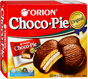 Печенье ORION CHOCO-PIE ORIGINAL 12 шт.